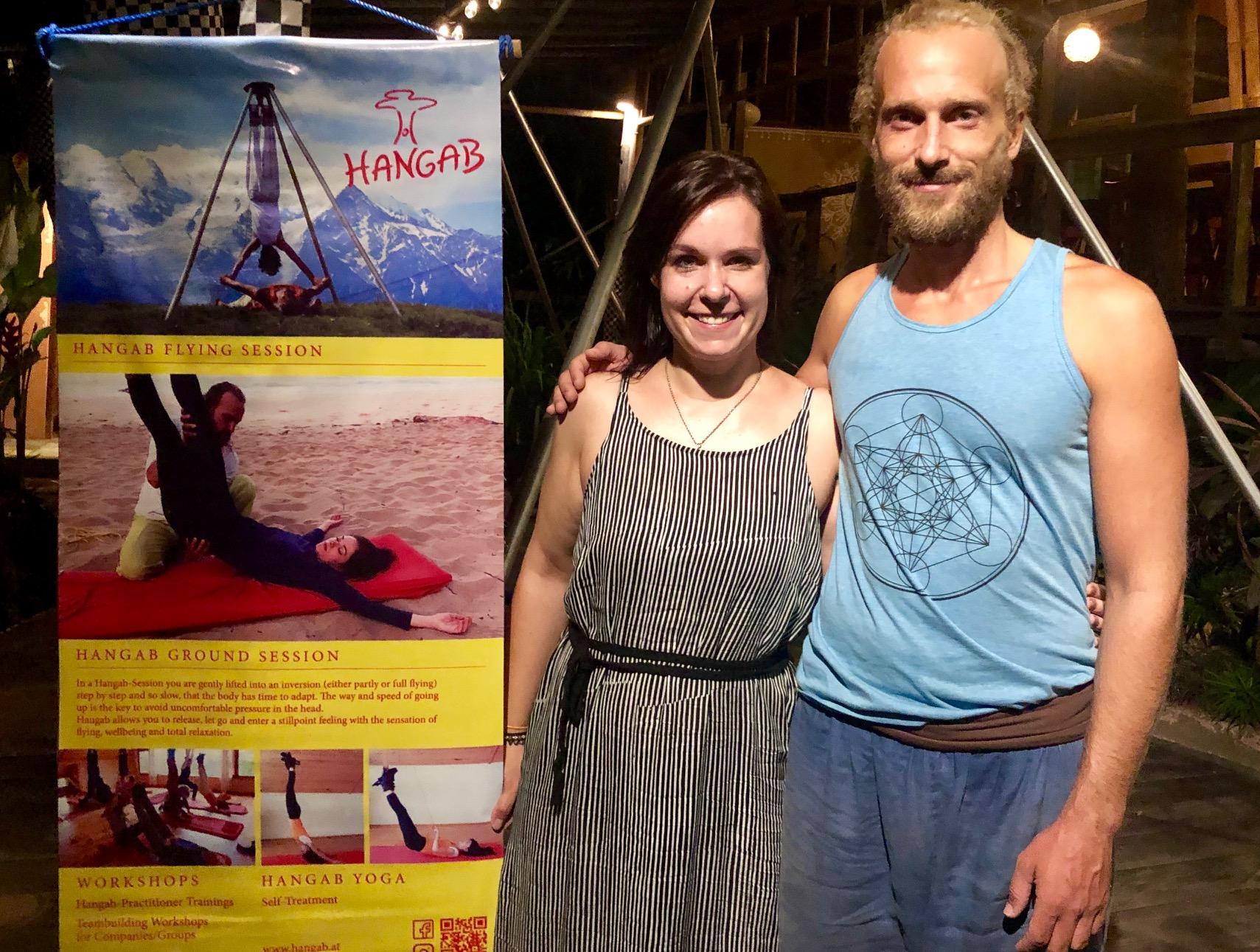 Hubert Muehlbacher reist mit Hangab durch die Welt.